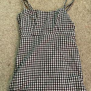 Brandy Melville checkered print dress